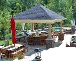 outdoor kitchen gazebo covered outdoor kitchens plans for an outdoor kitchen outdoor kitchen ideas outdoor grills