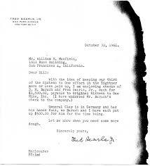 Fred Searls Jr Letter