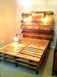 king size pallet bed pallet bed frame itsthecalm com