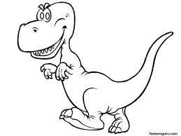 Small Picture T Rex Coloring Page Print OutRexPrintable Coloring Pages Free