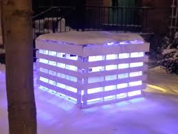 Bar Made Out Of Pallets Pallet Light Box Fireplace Or Postmodern Nativity Scene O Pallet