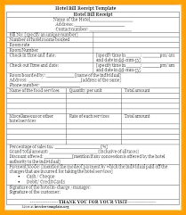 Catering Invoice Template Excel Fascinating Laundry Receipt Template Gocreatorco