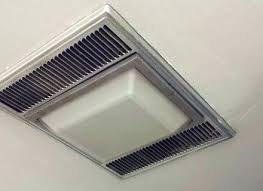 exhaust fan light bulb change square bathroom with