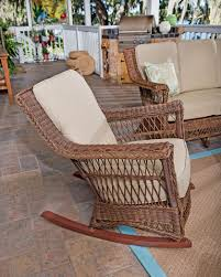 wicker rocking chair. Legacy Outdoor Wicker Rocking Chair