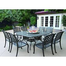 full size of bedroom good looking outdoor dining table for 10 pertaining to cast aluminum intended