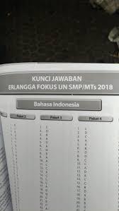 Paket b berikut adalah link download soal dan kunci jawab siap un sma tahun 2018 : Kunci Jawaban Erlangga Xpress Un 2019 Bahasa Indonesia Smp