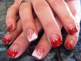 Home Design: Enchanting Christmas Fingernail Designs Christmas ...