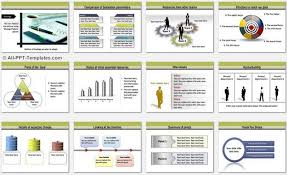 format of presentation of project powerpoint transport template