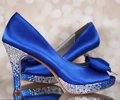 Blue Wedding Shoes Will Never Make Your Special Day Blue