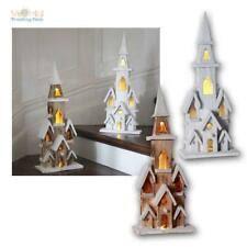 Weihnachten Beleuchtet In Weihnachtliche Fensterdekoration