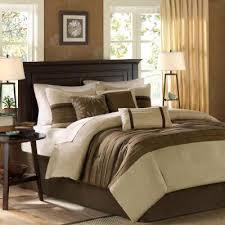 teagan 7 piece natural queen comforter