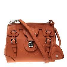 ralph lauren orange leather ricky cross bag nextprev prevnext