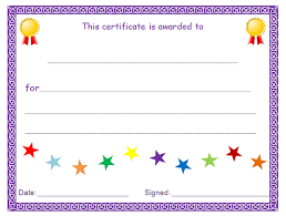 Printable Awards And Certificates Award Blank Under Fontanacountryinn Com
