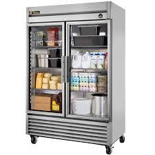 Glass Refrigerator True T 49g 55 Glass Door Reach In Refrigerator