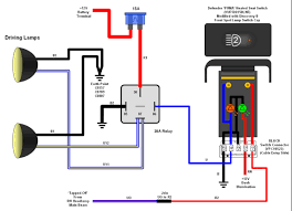 12 volt light relay wiring diagram relay wiring diagram for driving lights relay driving lights wiring diagram relay wiring diagrams on relay