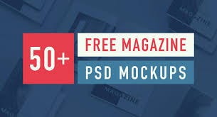 Booklet Template Free Download Mesmerizing 48 Best Free Magazine And Book Cover PSD Mockup Templates 48 Pixlov