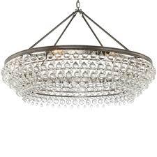crystorama calypso 8 light crystal teardrop vibrant bronze chandelier