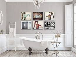 witching rustic bathroom wall farmhouse print artwork fullsize tures designs chic wood art oration accessories country