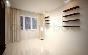 empty modern living room c14 living