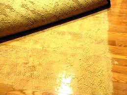 are rubber rug pads safe for hardwood floors best area kind of pad felt material