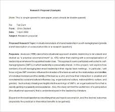 research paper proposal sample research proposal templates 17 free samples examples format