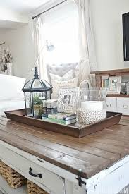 Decorating With Trays On Coffee Tables Furniture Large Round Ottoman Tray Coffee Table Target Serving 38