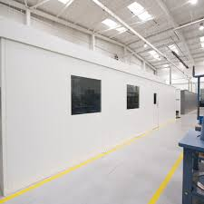 steel partitioning wall system