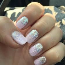 Shellac Winter Glow With Glitter Ombré Shellac Unhas Unha A