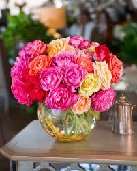 garden roses mix bouquet