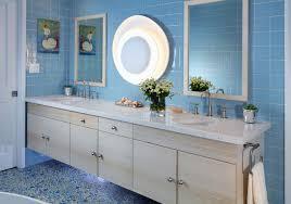 bathroom floor tile blue. peaceful palisades: kitchen, baths \u0026 princess playroom contemporary-bathroom bathroom floor tile blue