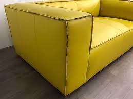 84 l x 47 d bonham sofa in italian jet lemongrass arm