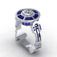 buy custom droid lte engagement ring inspired by star wars made