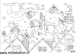 5 Prachtige Sinterklaas Kleurplaten Sinterklaas Kleurplaat