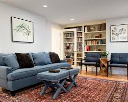 image of modern decorating with oriental rugs