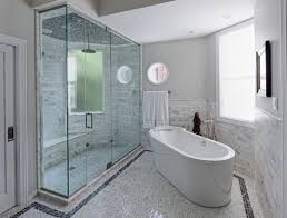 glass steam shower enclosures work well even in small space