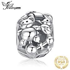 <b>JewelryPalace</b> 925 Sterling Silver Doll Bear Charm Beads Fit ...
