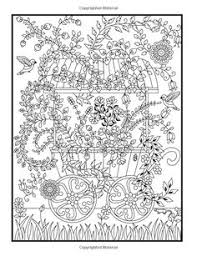 hidden garden an coloring book with secret forest s enchanted flower designs and fantasy nature patterns jade summer coloring books