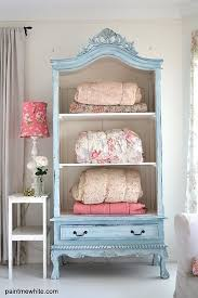 white wood wardrobe armoire shabby chic bedroom. 25 Upcycled Furniture Ideas. Guest RoomsAntique White Wood Wardrobe Armoire Shabby Chic Bedroom