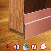 weather stripping doors bottom seal under door draft stopper energy saver and insulation gap sealer noise