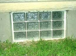 installing glass block basement windows how to install cost