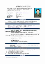 Mba Resume Format For Freshers Pdf Beautiful Resume Examples Mba