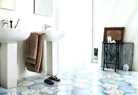 black hexagon tile bathroom tiles inspiring shaped floor blue x hex