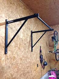 diy wall mounted pull up bar got my wife the p 4 pull up bar and diy wall mounted