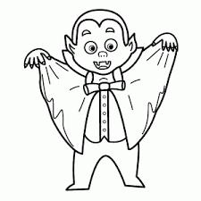 Leuke En Griezelige Vampiers Kleurplaten Leuk Voor Kids