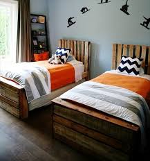 diy pallet single bed wooden pallet platform bed for new bedroom 101 pallets