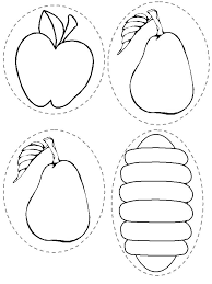 Hungry Caterpillar Coloring Page Very Hungry Caterpillar Coloring