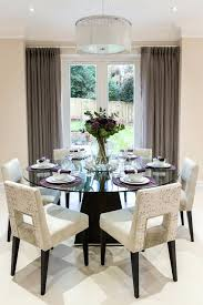 placemats for round tables beautiful table in dining room transitional with glass top next to curtains placemats for round tables