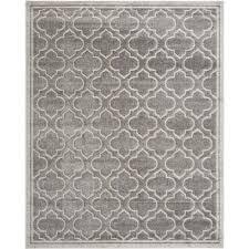 safavieh amherst grey indoor outdoor rug 10 x 14