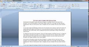 microsoft word web page templates page layout menu microsoft page layout menu microsoft office word tamil part 1