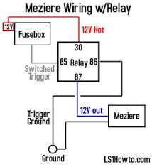 _relay_diagram ls1howto com on electric water pump wiring diagram